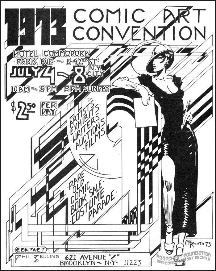 1973 Comic Art Convention flyer