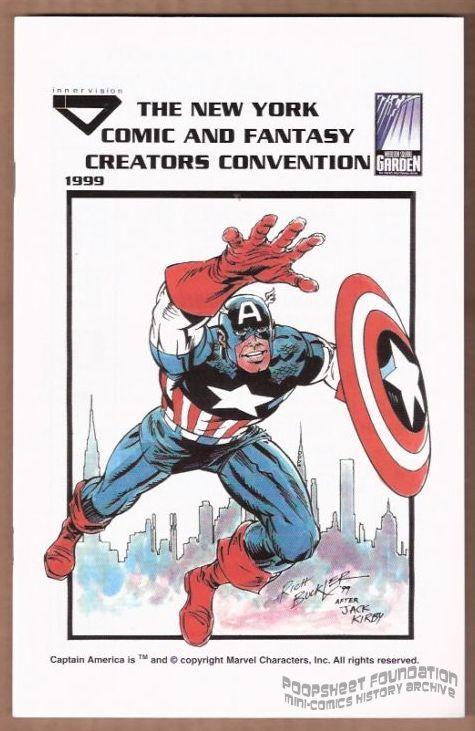 New York Comic and Fantasy Creators Convention 1999 program