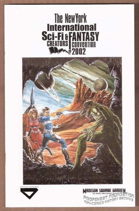 New York Comic and Fantasy Creators Convention 2002 program