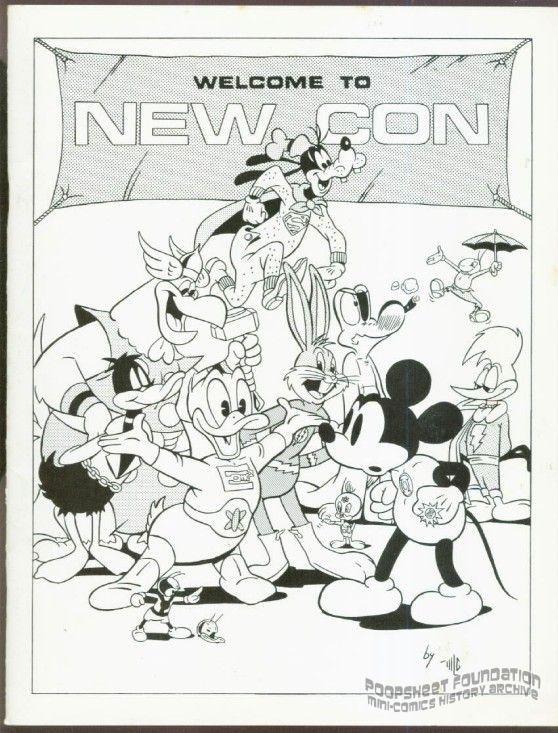 New England Comic Art Convention 1975 program