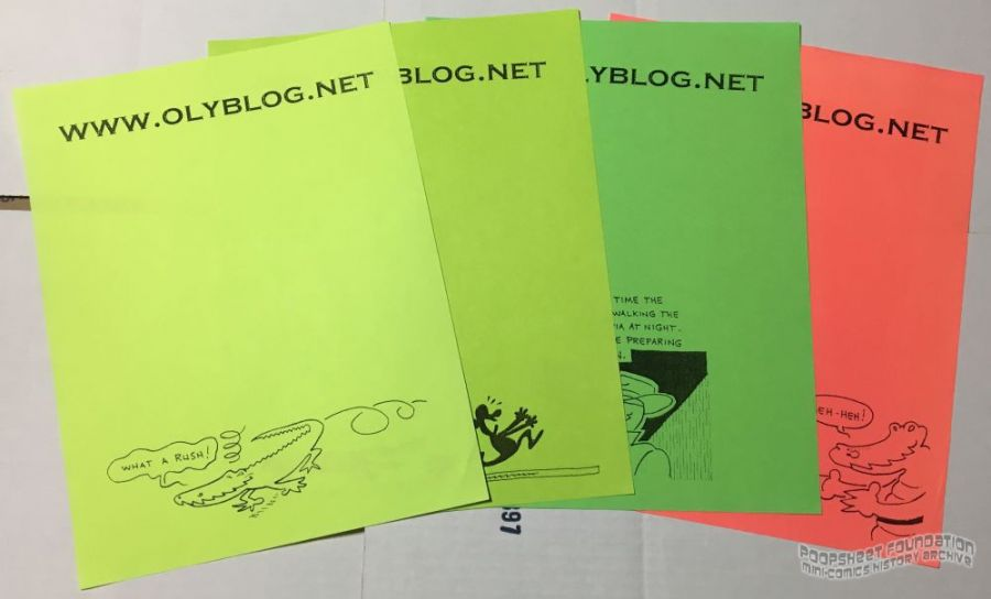 OlyBlog letterheads