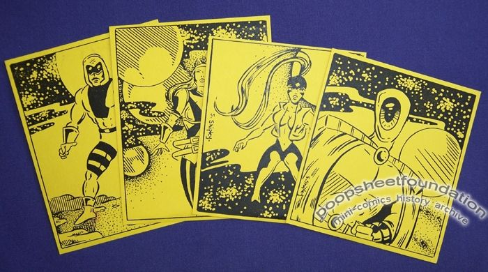 Peacemakers trading cards