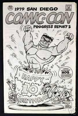 Comic-Con International: San Diego 1979 Progress Report #2