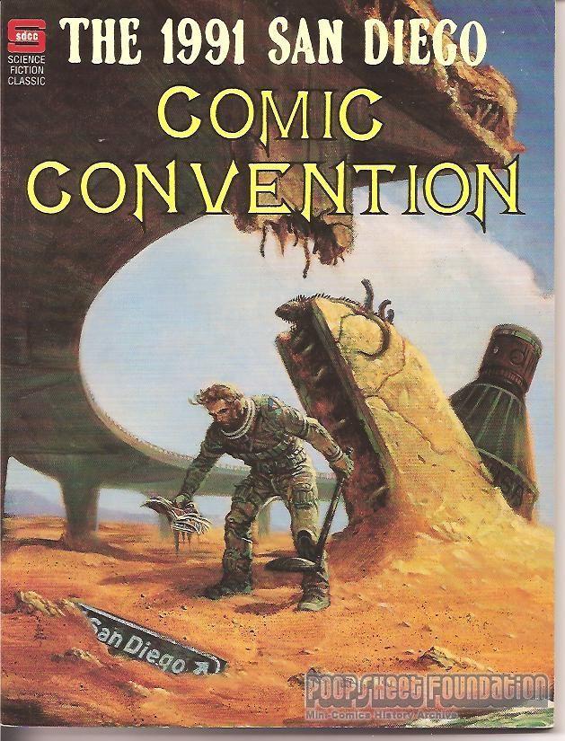Comic-Con International: San Diego 1991 Program