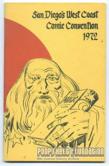 Comic-Con International: San Diego 1972 Program