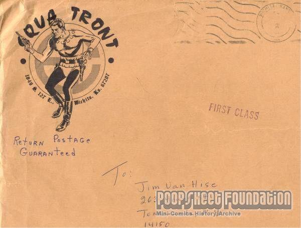 Squa Tront mailing envelopes