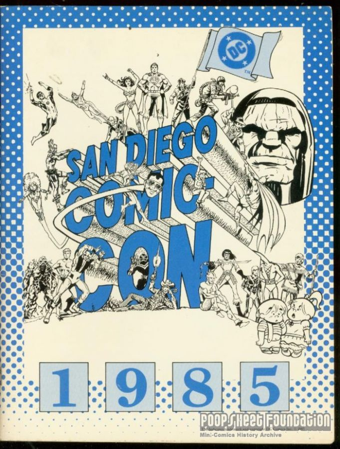 Comic-Con International: San Diego 1985 Program