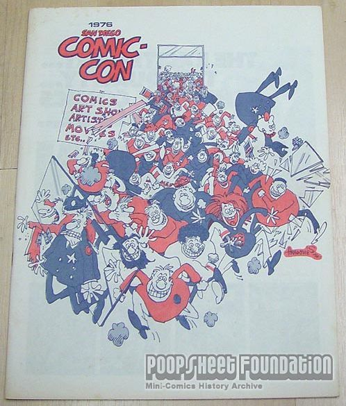 Comic-Con International: San Diego 1976 Program