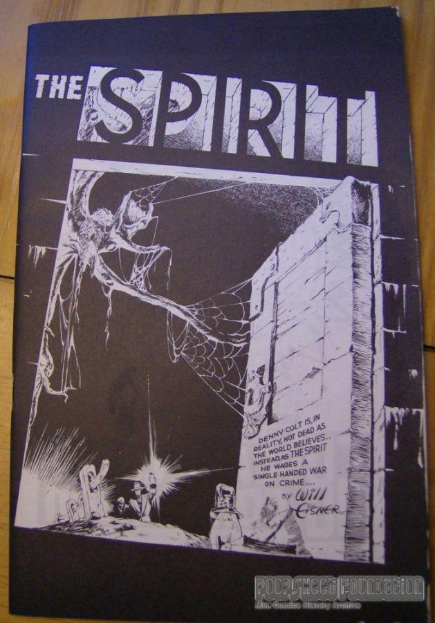 SCARP Comic Convention 1968 program