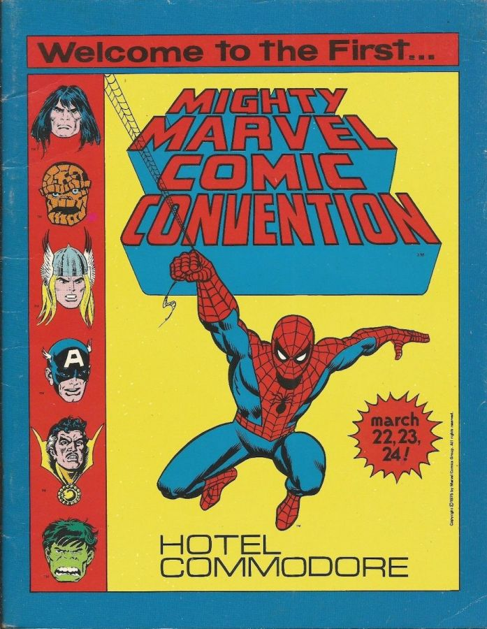 Mighty Marvel Comic Convention Program Book 1975
