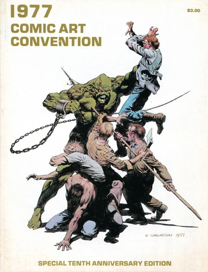 1977 Comic Art Convention program book