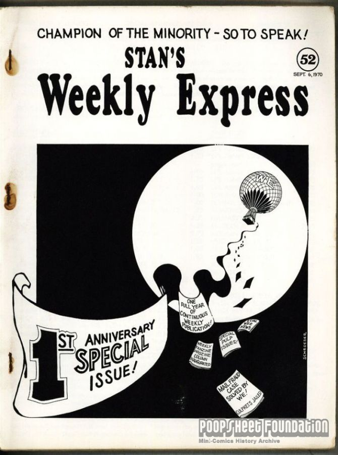 Stan's Weekly Express #52