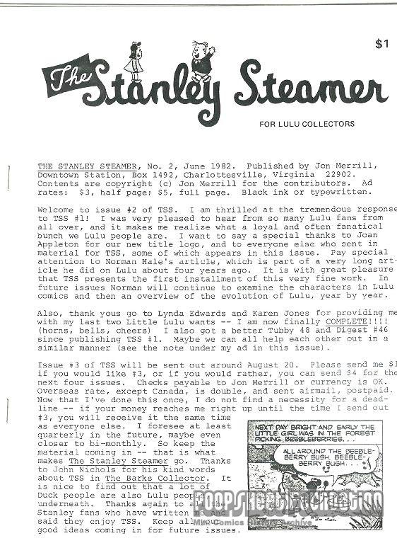 Stanley Steamer, The #2