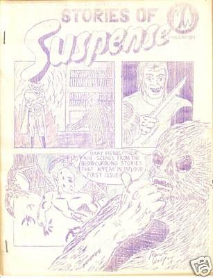 Stories of Suspense #1