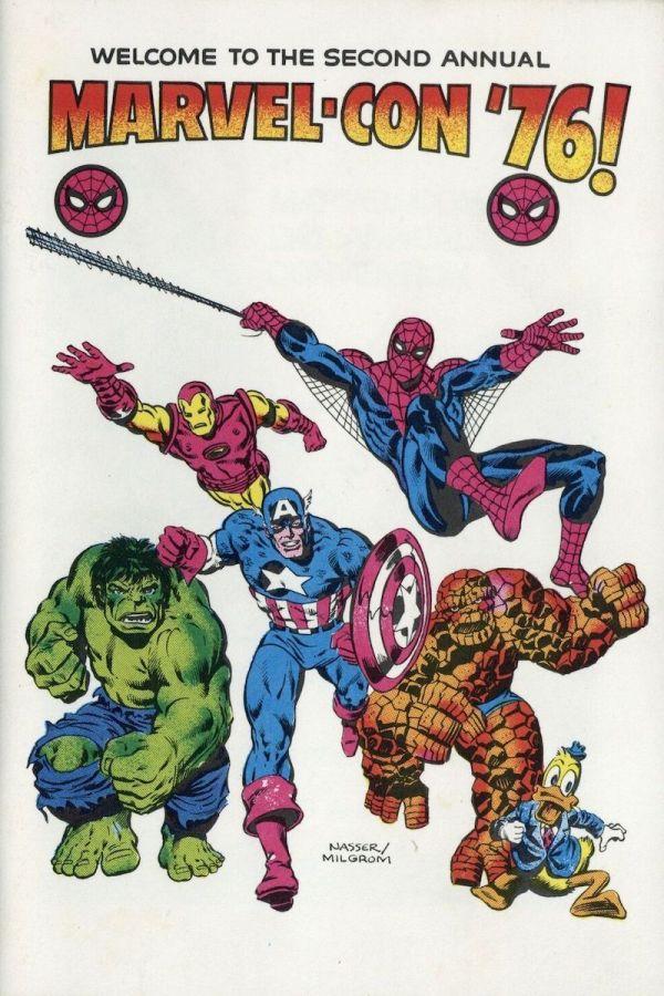 Marvel-Con '76 Progam Book