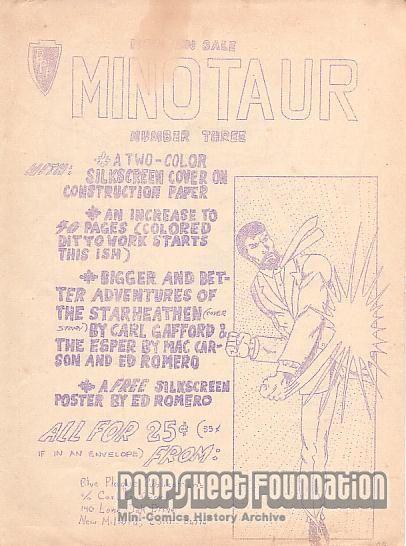 Minotaur #3 ad
