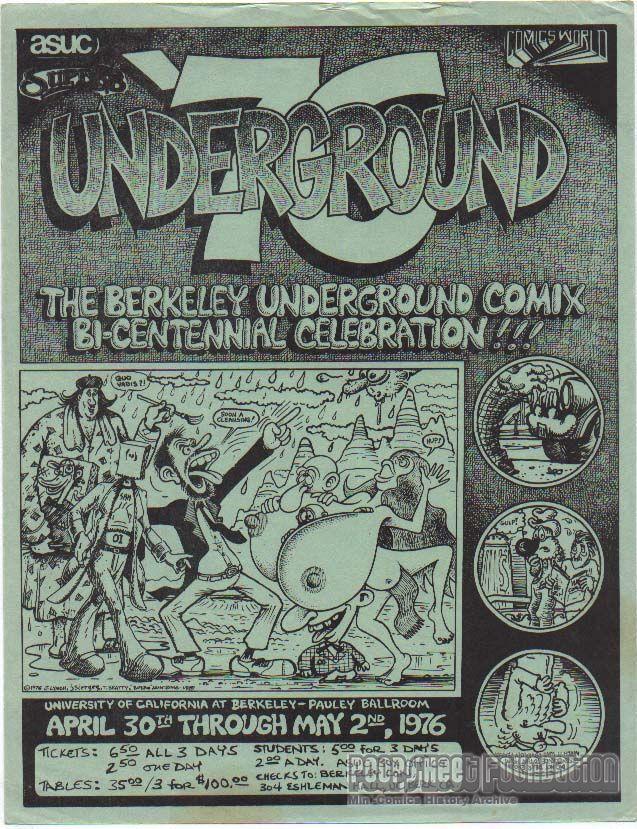 Underground '76 (Berkeley Con) flyer