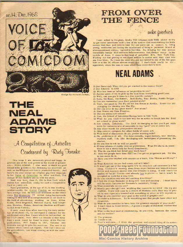 Voice of Comicdom #14