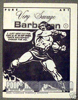 Very Savage Barbarian #1