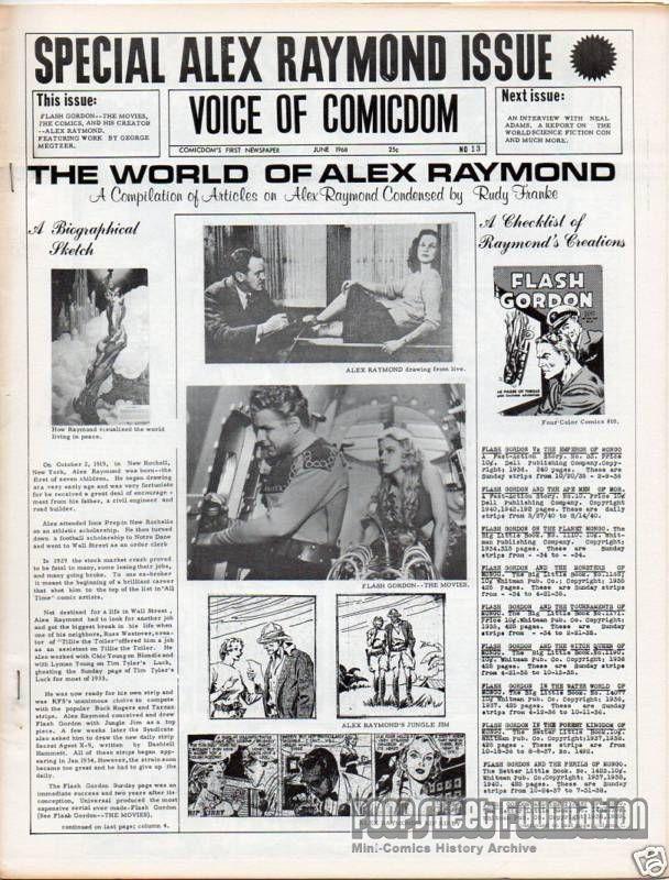 Voice of Comicdom #13
