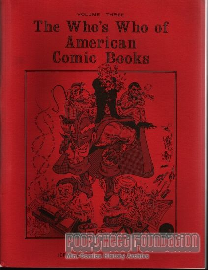 Who's Who of American Comic Books Vol. 3