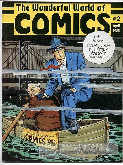 WonderCon 2 (April 1988) program [Wonderful World of Comics Convention]