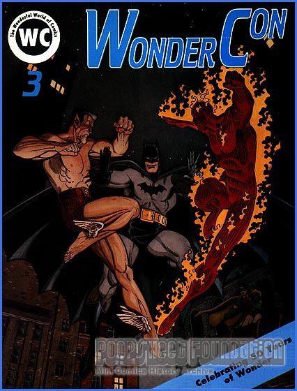 WonderCon 3 (1989) program