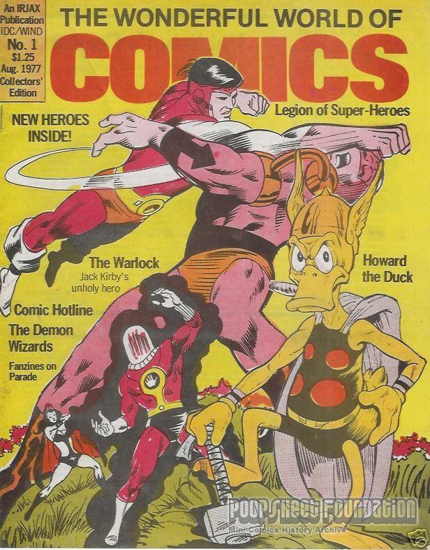 Wonderful World of Comics, The #1 [Irjax]
