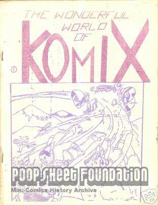 Amateur Komix #1 [The Wonderful World of Komix]