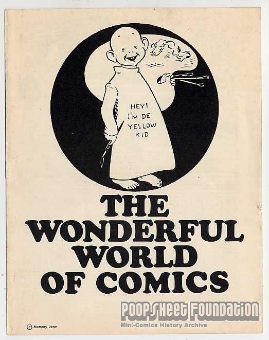Wonderful World of Comics, The [Memory Lane]
