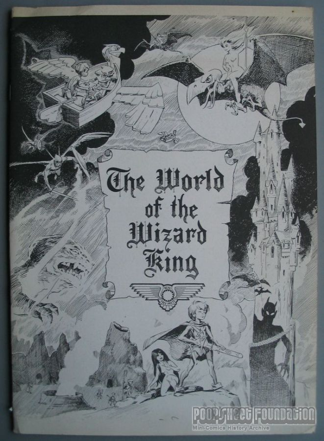 World of the Wizard King, The [Real Free Press]