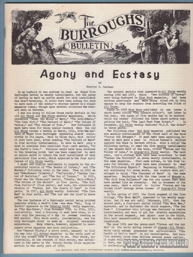 Burroughs Bulletin #17