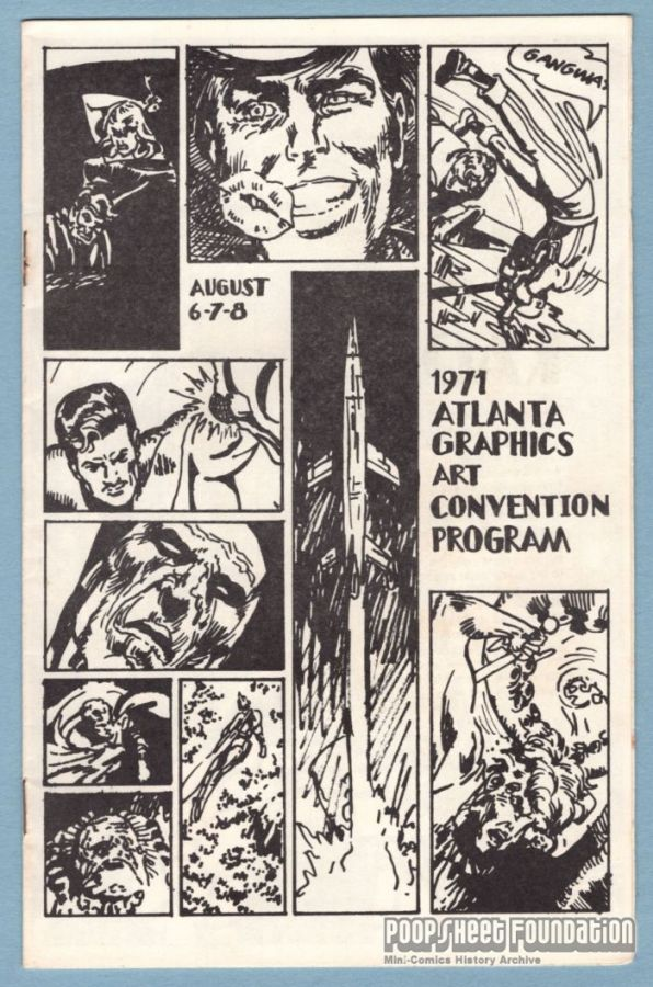 Atlanta Graphics Art Convention 1971 program