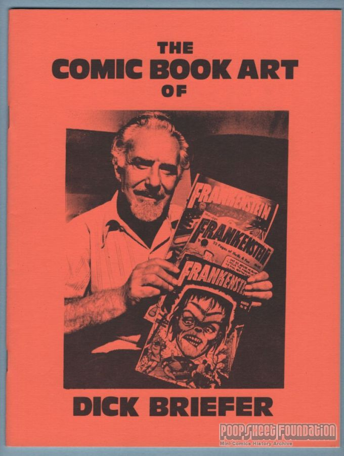 Comic Book Art of Dick Briefer, The