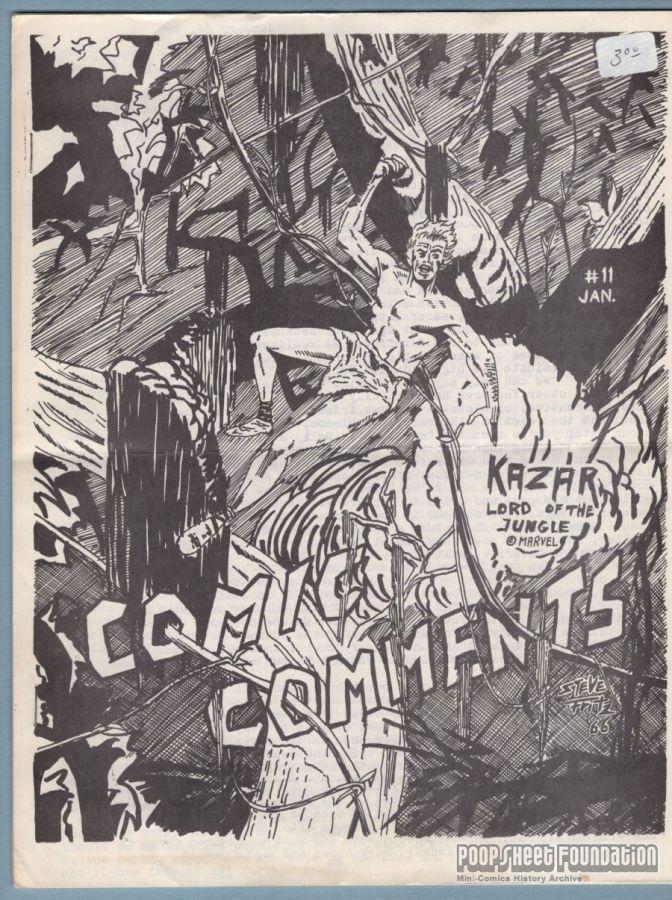 Comic Comments #11
