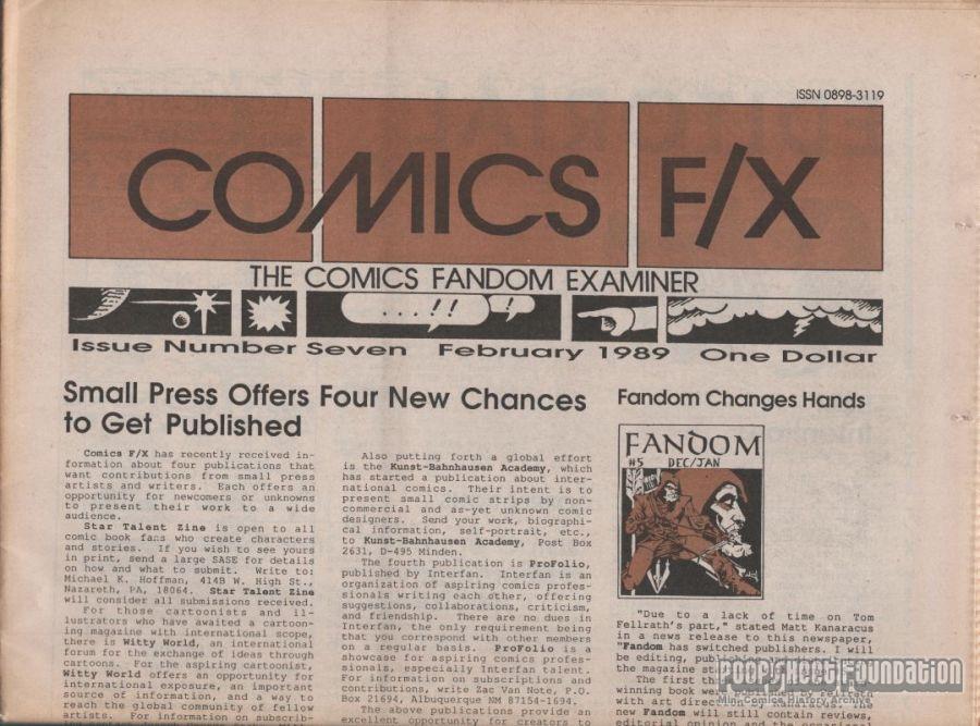 Comics F/X #07