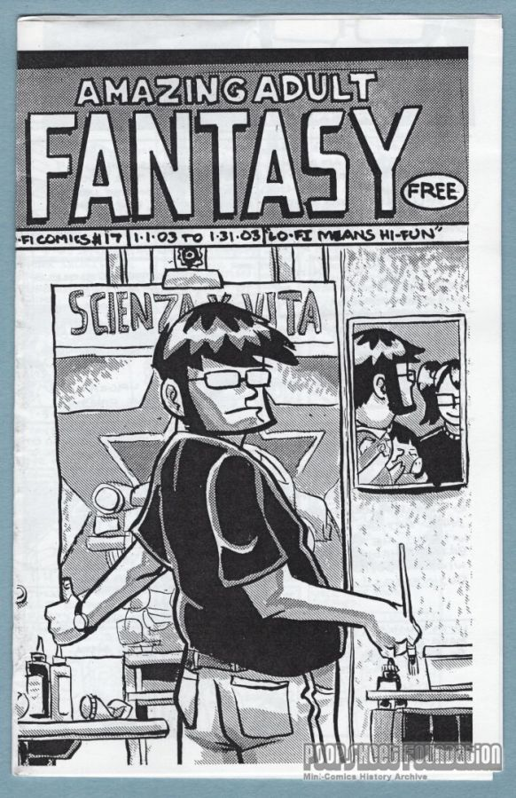 Amazing Adult Fantasy #17