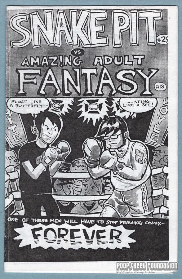 Amazing Adult Fantasy #18 / Snake Pit #29