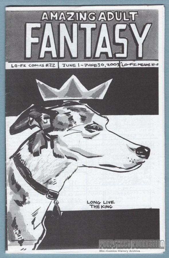 Amazing Adult Fantasy #22 / Dumbluck #4