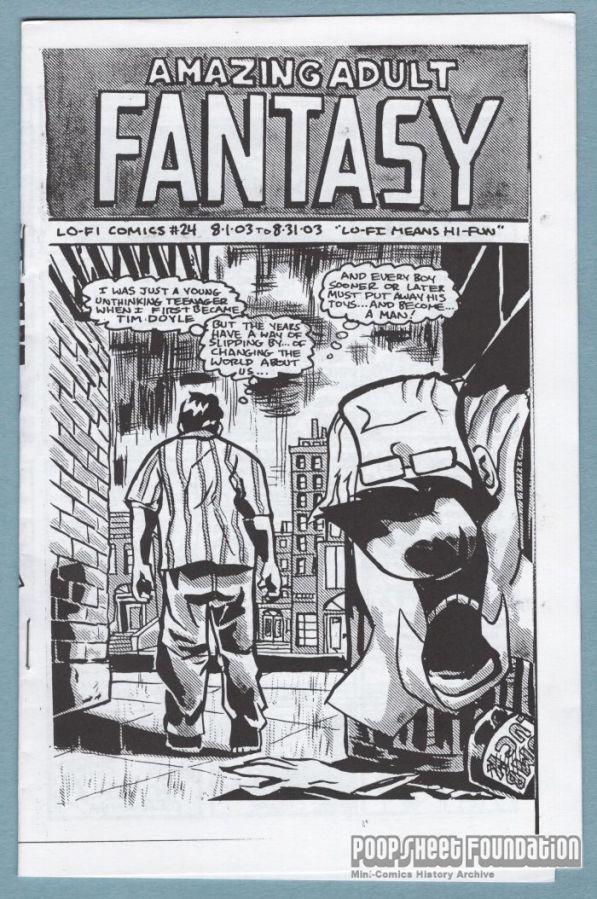 Amazing Adult Fantasy #24