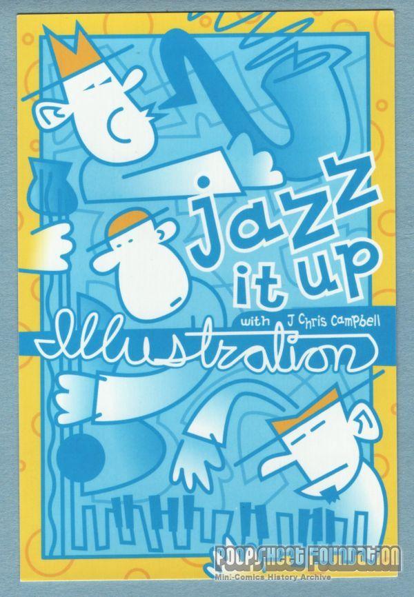 Jazz It Up postcard