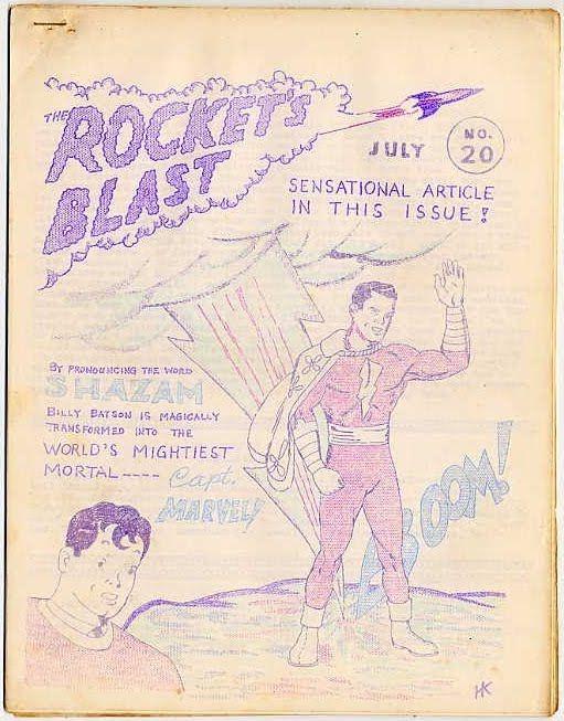 Rocket's Blast #020