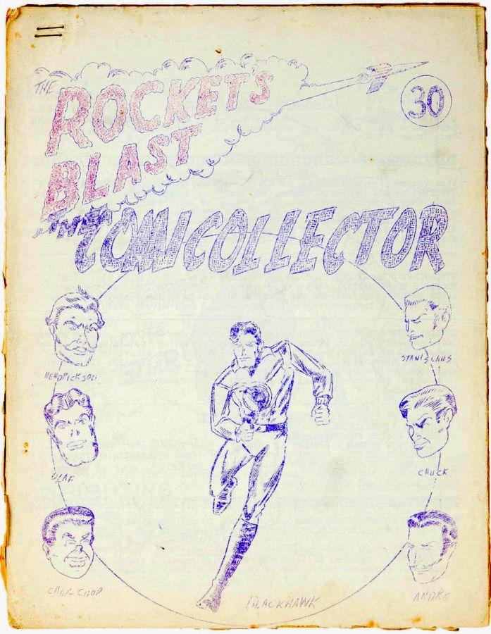 Rocket's Blast Comicollector / RBCC #030
