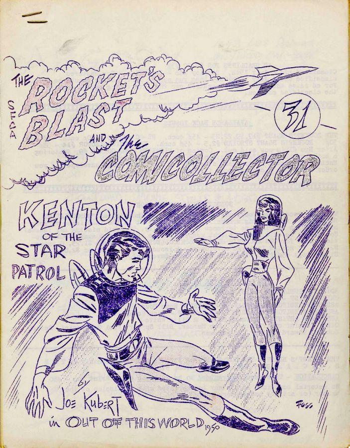 Rocket's Blast Comicollector / RBCC #031