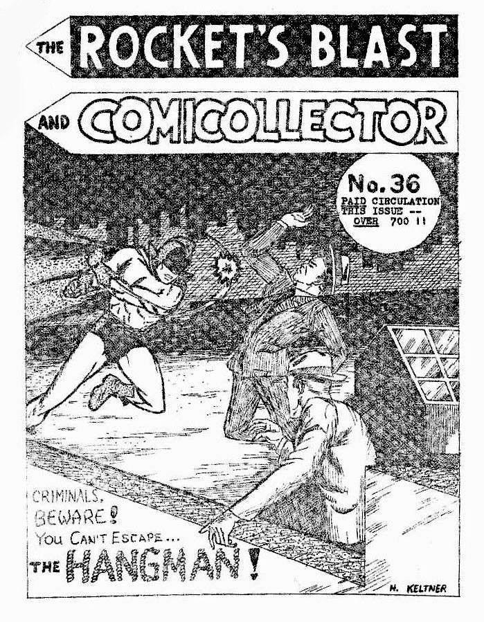 Rocket's Blast Comicollector / RBCC #036