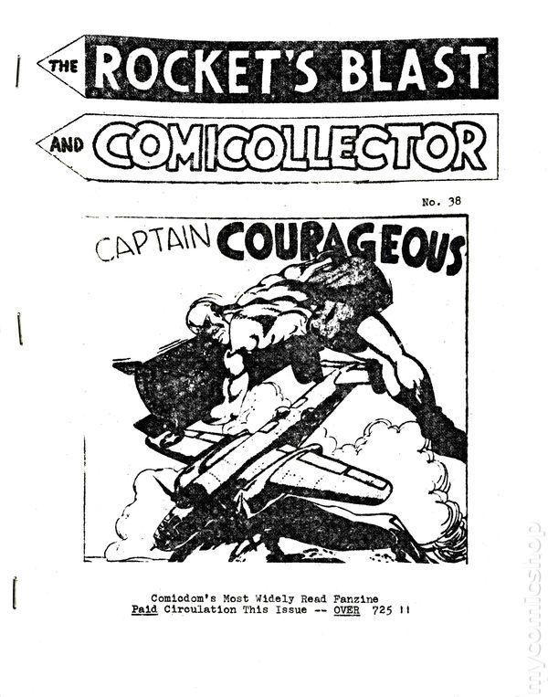Rocket's Blast Comicollector / RBCC #038