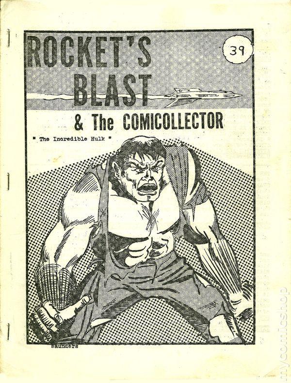 Rocket's Blast Comicollector / RBCC #039