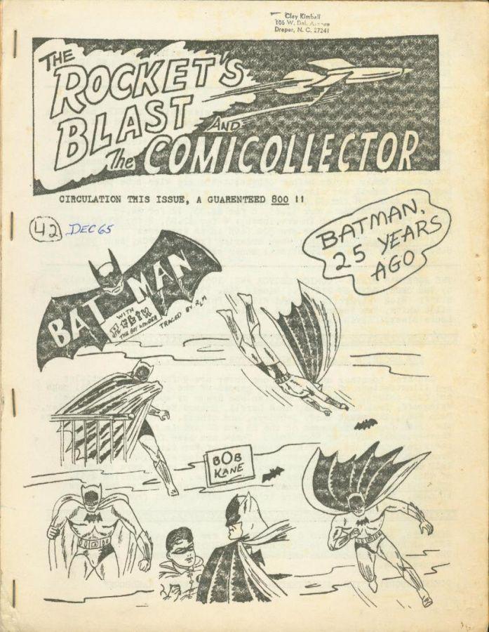 Rocket's Blast Comicollector / RBCC #042