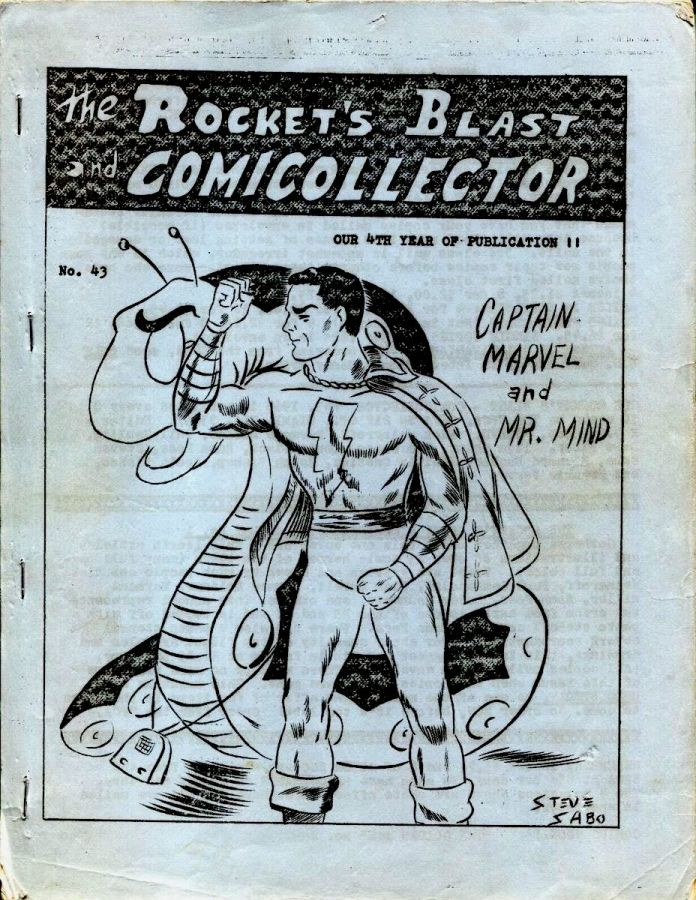 Rocket's Blast Comicollector / RBCC #043