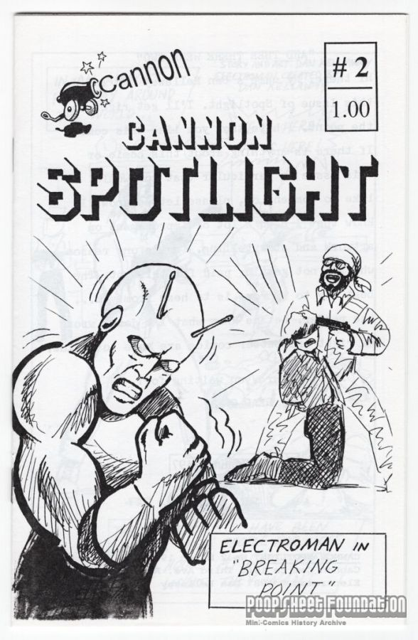 Cannon Spotlight #2 (1st-2nd)